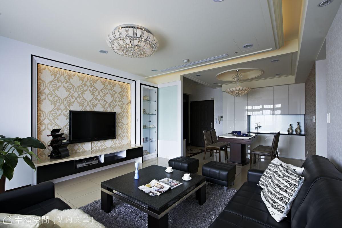 軍宅改造 賦予新古典柔和色彩