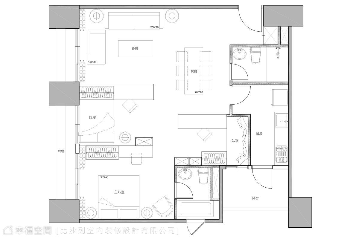 29坪的豪宅品味:造型張力勾勒精緻美學