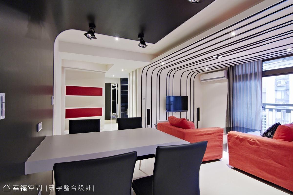 黑 白 紅 時尚個性宅