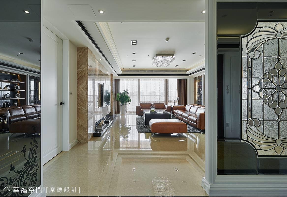 宴客居家雙用宅  新古典的大宅風範