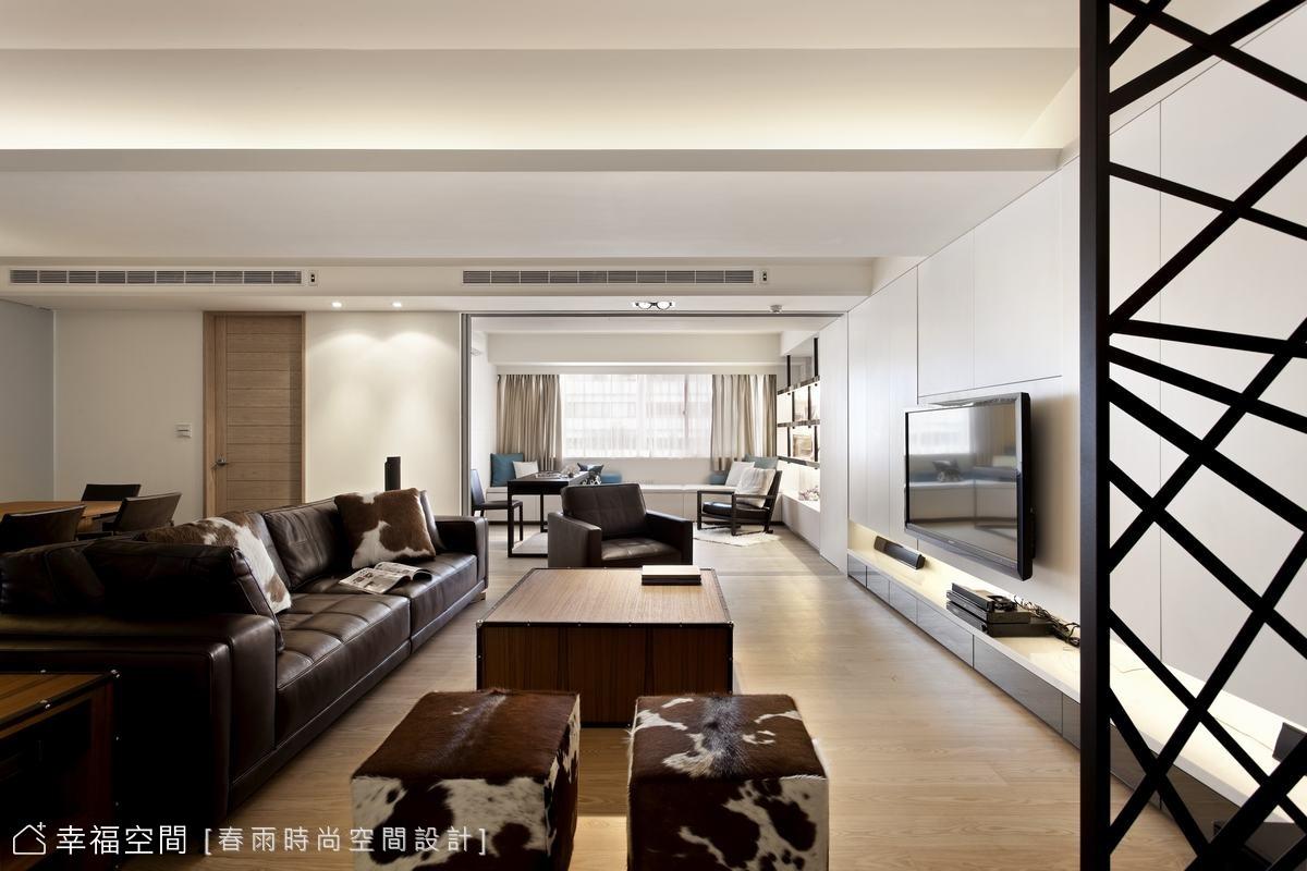 混搭黑白灰 搭構溫馨時尚新房