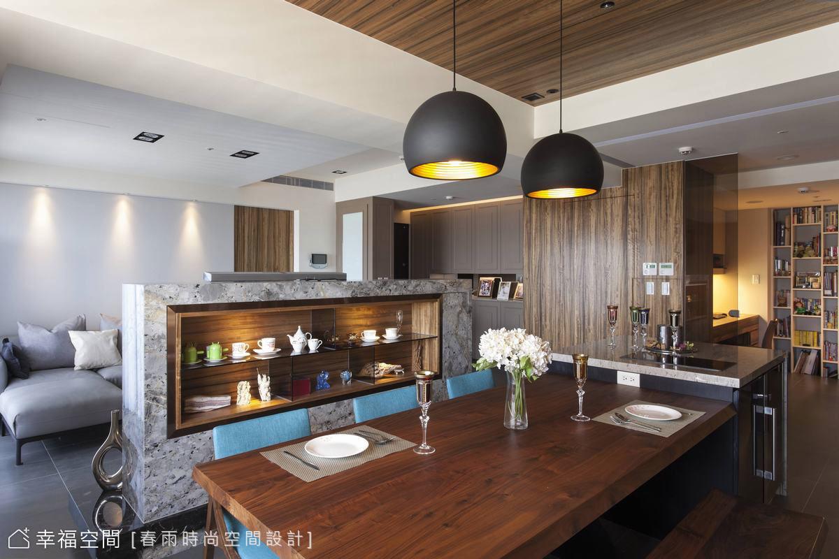 薈萃古典與休閒  打造沐光淨透的現代質感家