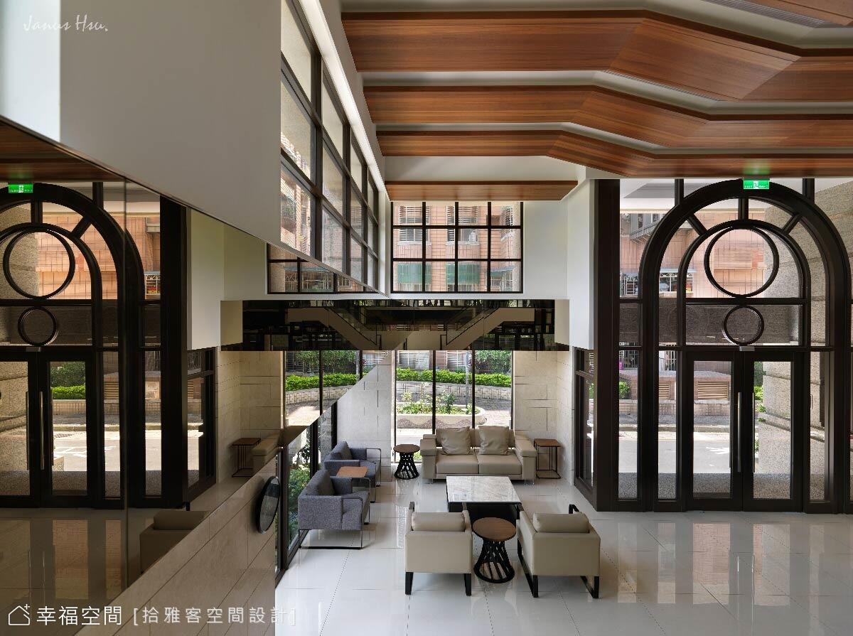 現代風尚 構築人文廳堂