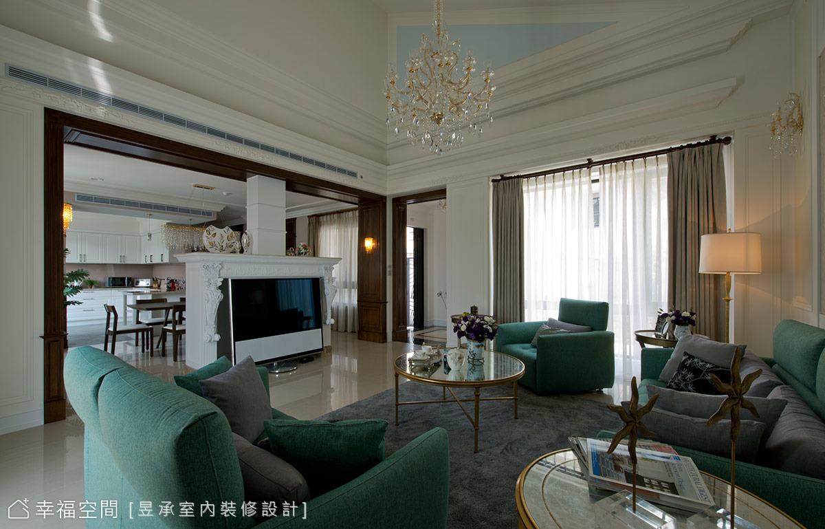 空間感、採光、配色彷若置身國外的美式大宅