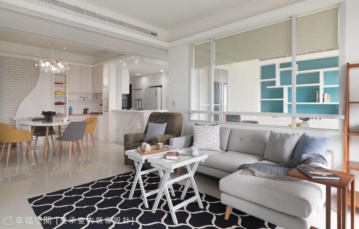 百萬裝修 有幸福感的30坪北歐風美宅