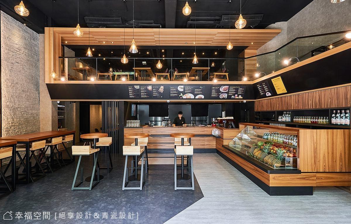 上班族最愛!質感細膩的工業風餐廳