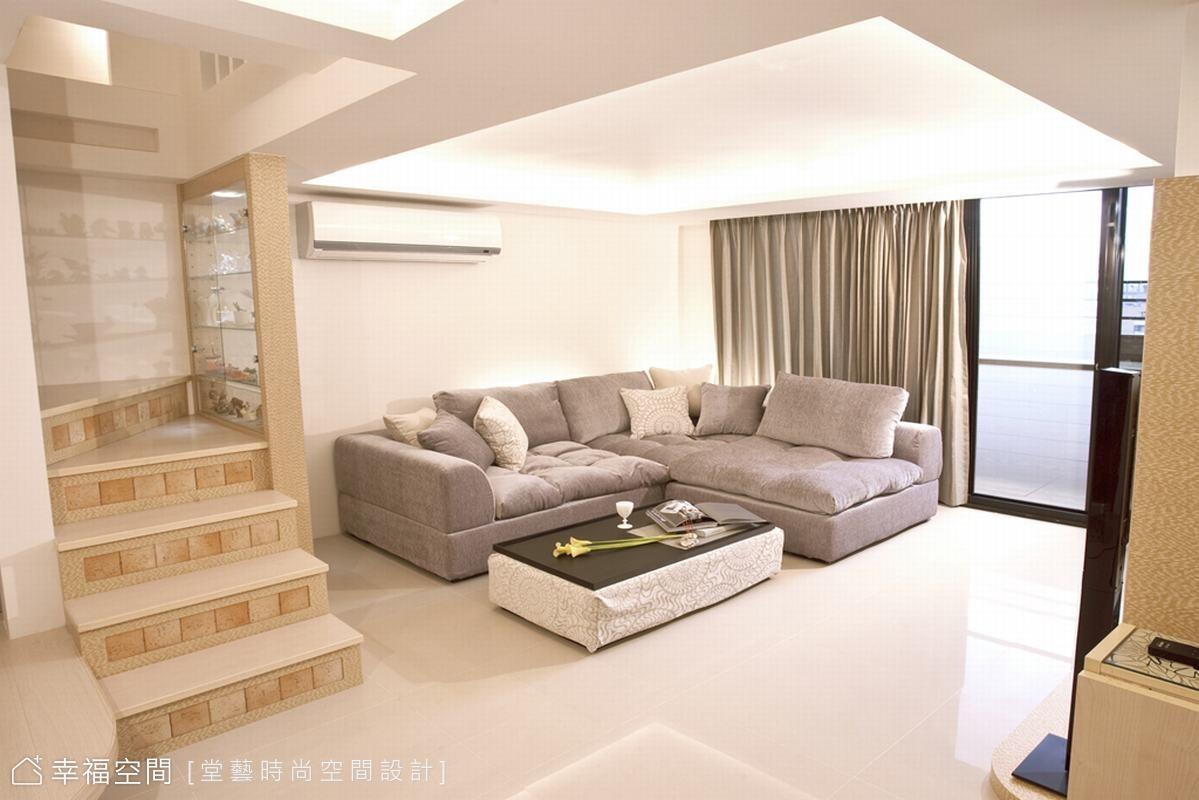 空間一分為二 打造溫馨雅緻小豪宅