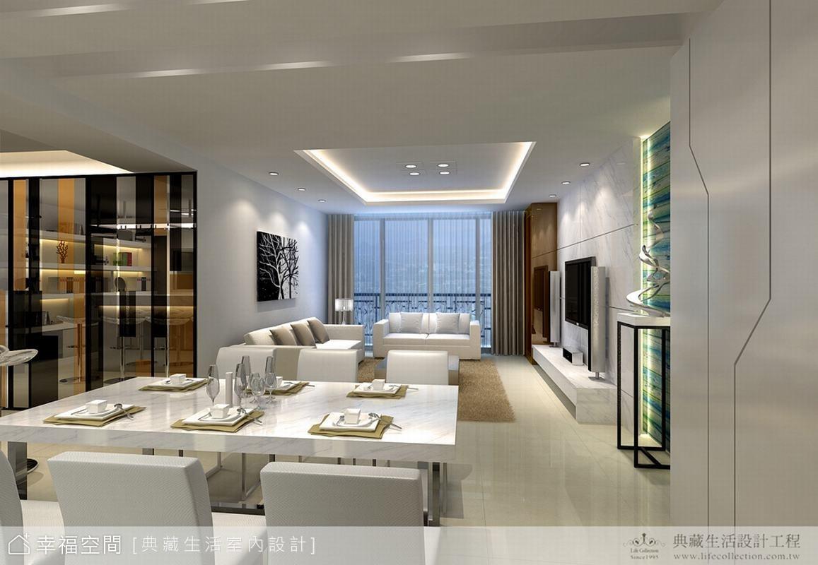 白色時尚‧現代經典宅邸
