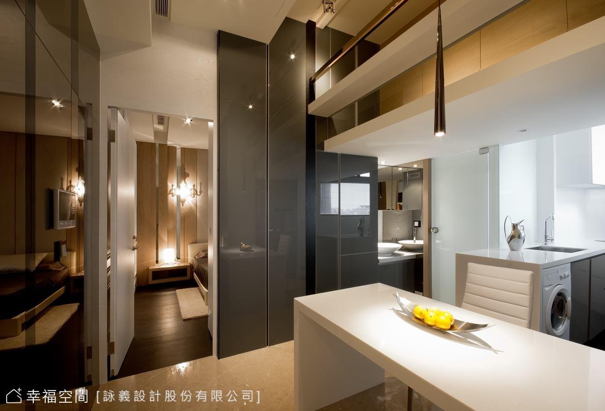 3D立體層次 26坪精品小豪宅
