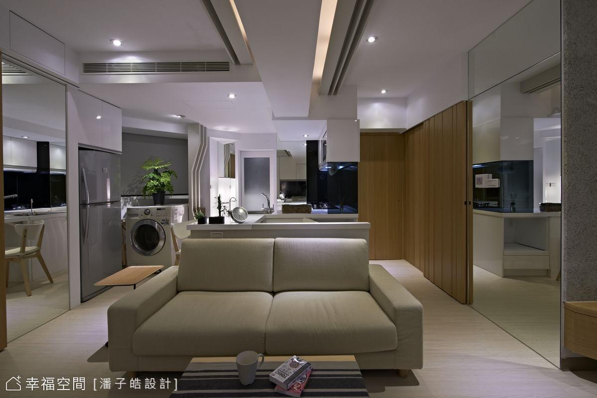 15坪梯形房屋 完美空間魔法