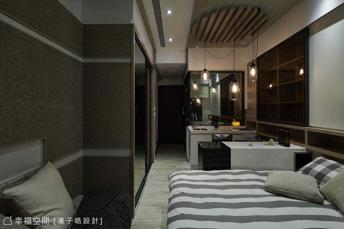 型宅概念:2人6坪的慵懶主張
