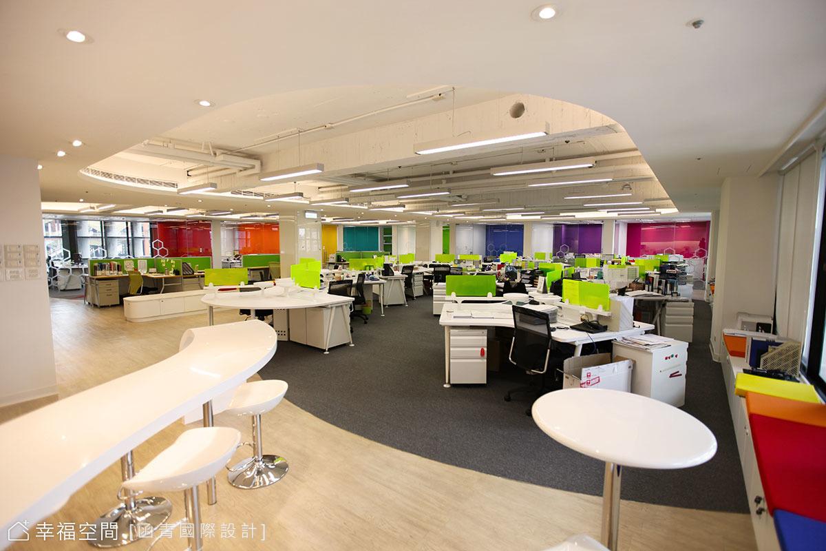 媲美google人性化設計 亮彩活力夢幻辦公室