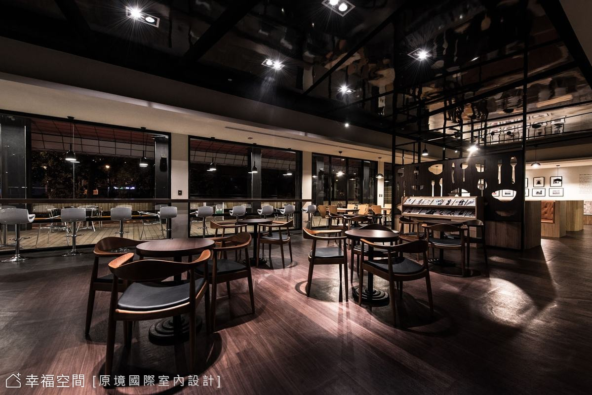 串聯美式氛圍 複合咖啡館