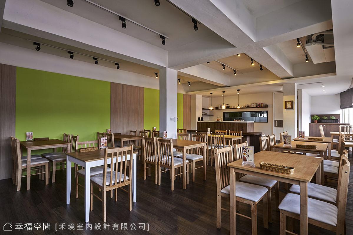 30年公寓大改造 自然輕食餐廳