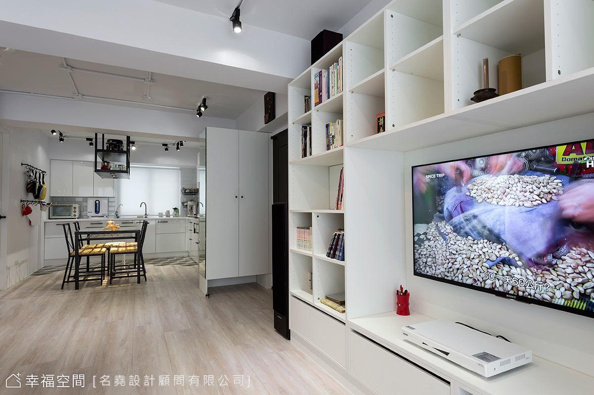 老屋翻新:機能各歸各位 讓家沒有閒置的空間