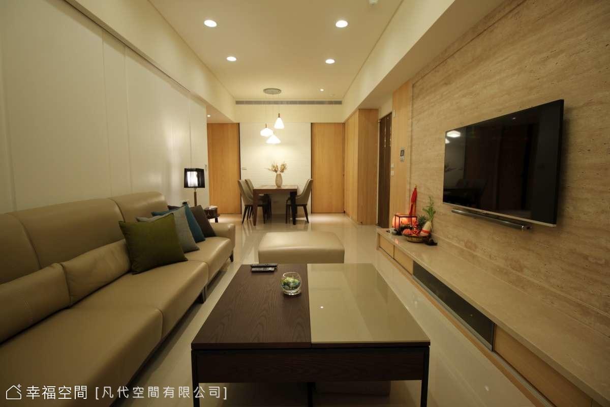 25坪規劃3房好充裕 簡約明亮的休閒風美宅
