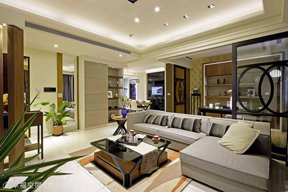 築起,輕工業質感的極簡美宅