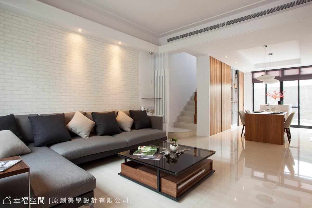 皎潔光感 簡約純淨白色美墅