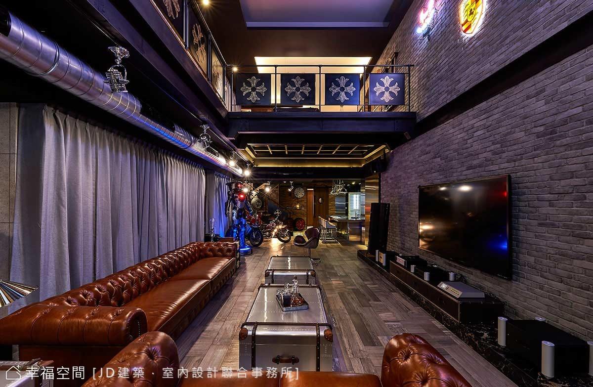 居家美式小酒館 讓男人也想尖叫的夢幻級招待會所