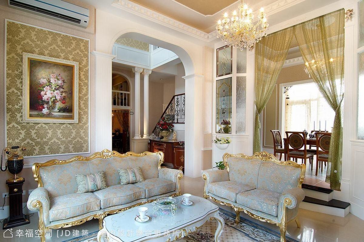華麗典雅 法式宮廷別墅
