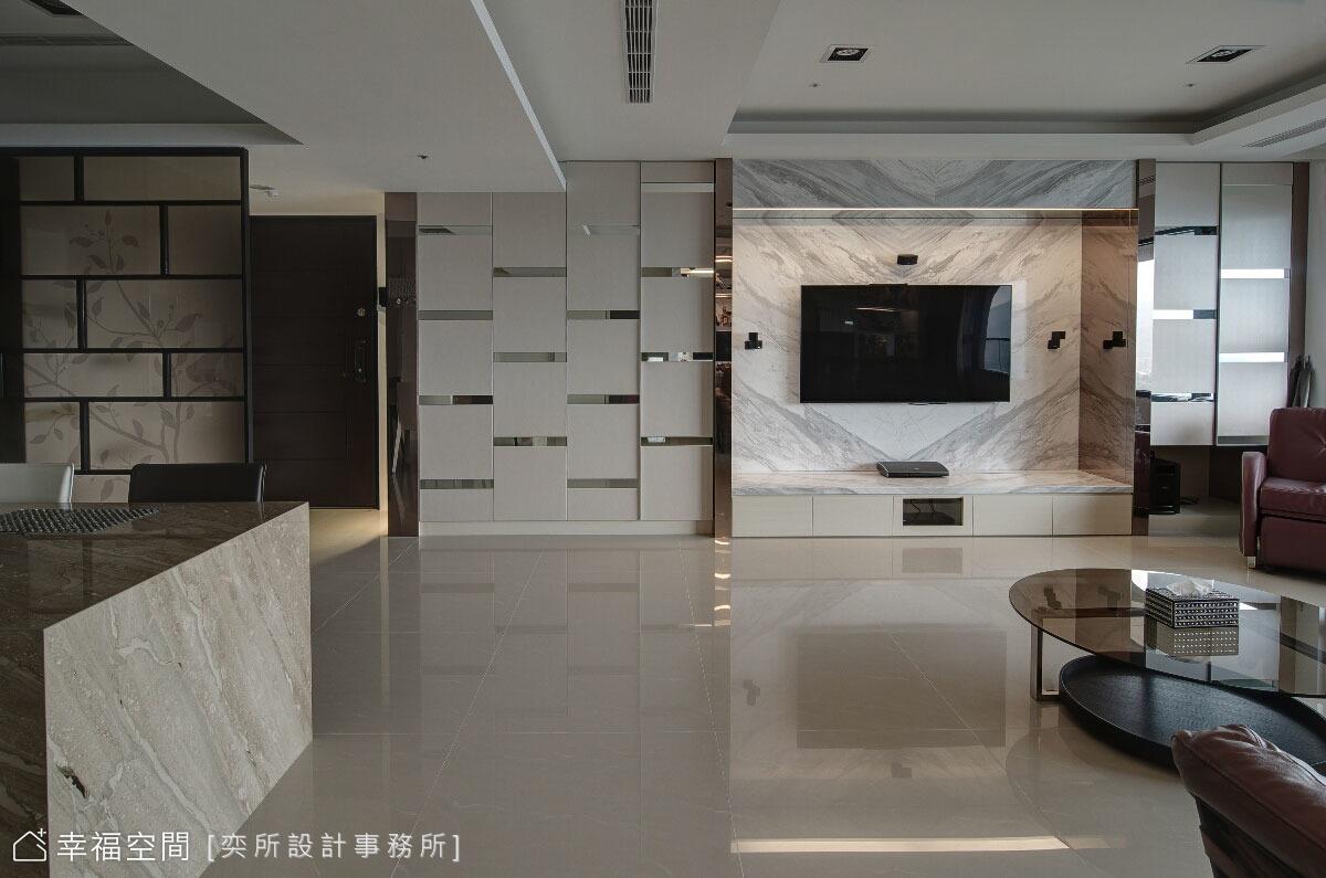 精品店式的現代奢華空間設計