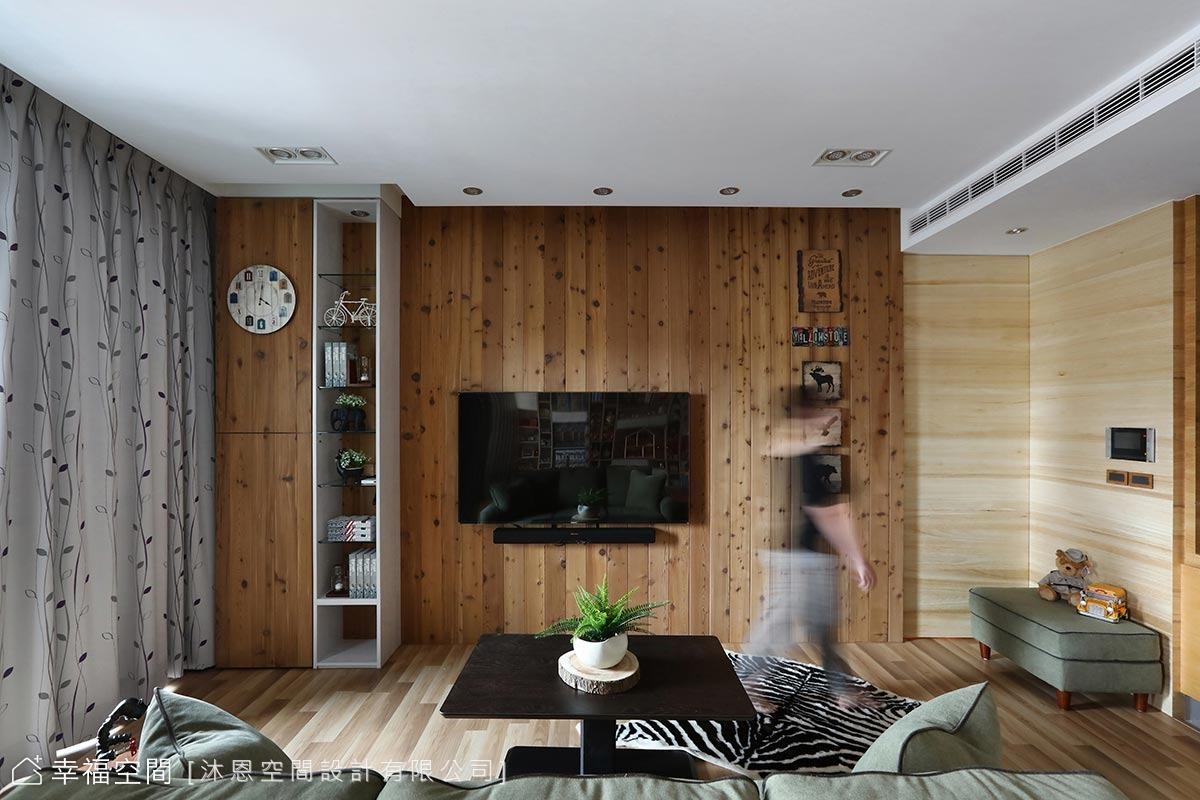 木質堆疊層次 入住度假風小木屋