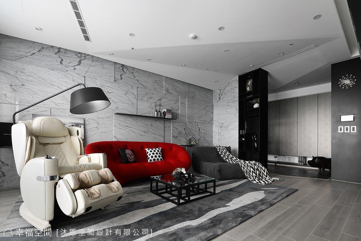 圍塑「家」的歸屬感 現代時尚大宅