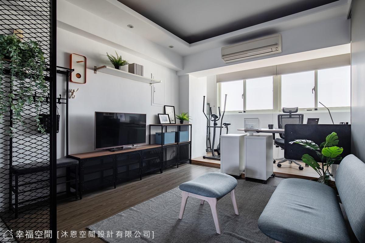 當工業風遇上現代感 成就老屋翻新的美好|20坪|3房、2廳、2衛
