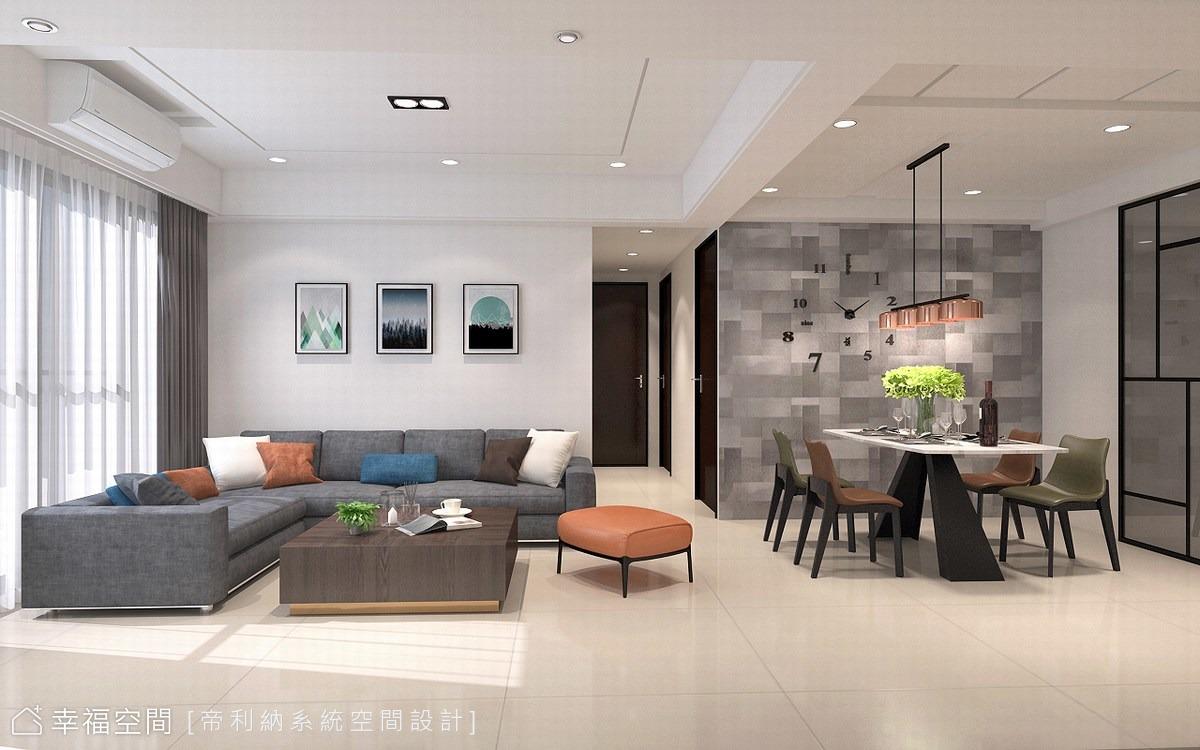 黑白灰極簡風 年輕夫妻的26坪實用美宅
