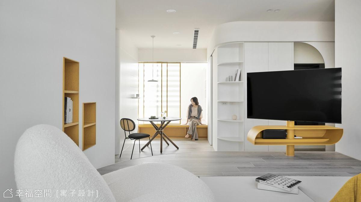 曦|北歐風|老屋翻新|25坪|2房、2廳、1衛