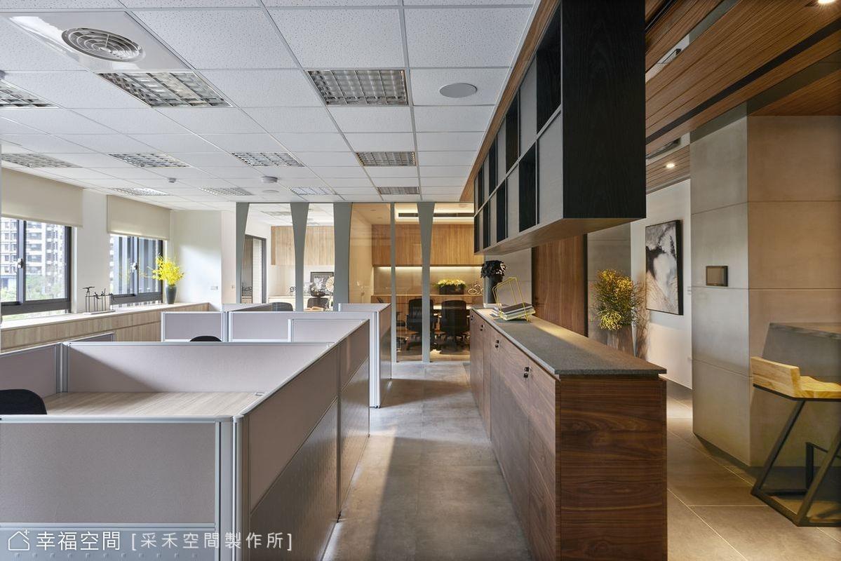 以人為本 構築質樸內斂的辦公空間