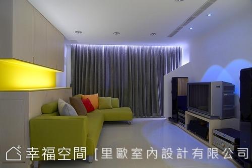 21坪也能打造出Lounge風的4房空間