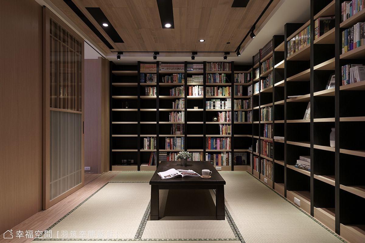 私人藏書閣 充滿書香氣息的日式禪居