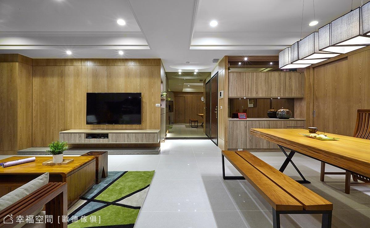 飯店式設計 系統板材打造南洋風度假宅