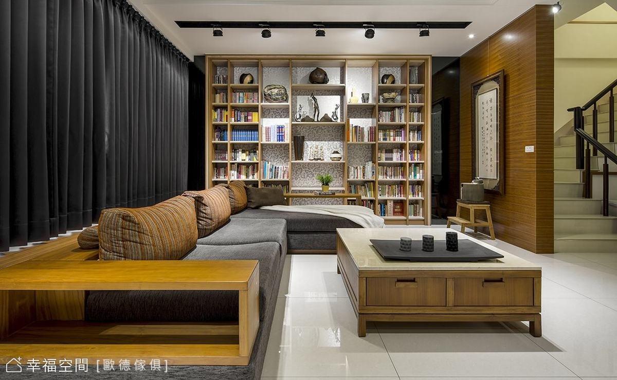 書香樂譜藝術宅 系統傢俱創造指揮家居家風格