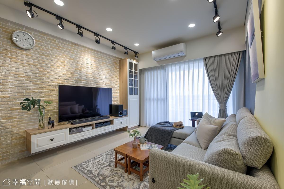 細節之處發揮創意巧思 打造人格化的專屬住宅|混搭風|27坪|3房、2廳、2衛