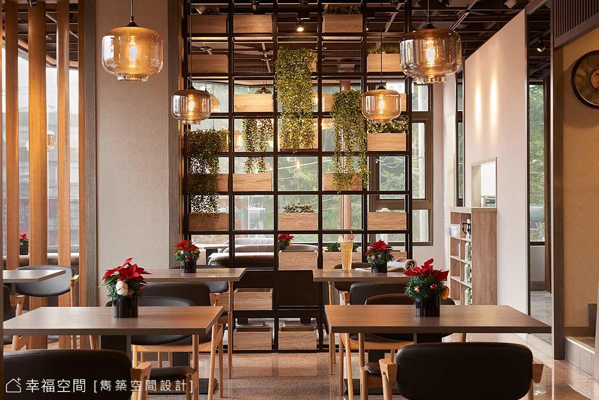 衝突之美 舒適明亮工業風餐廳