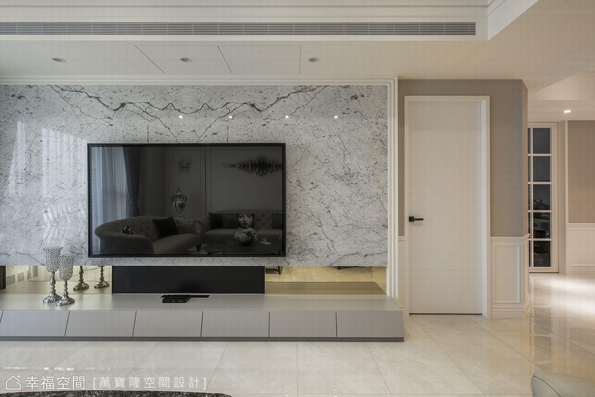 新古典融會現代感 鐫刻家的美好記憶 42坪