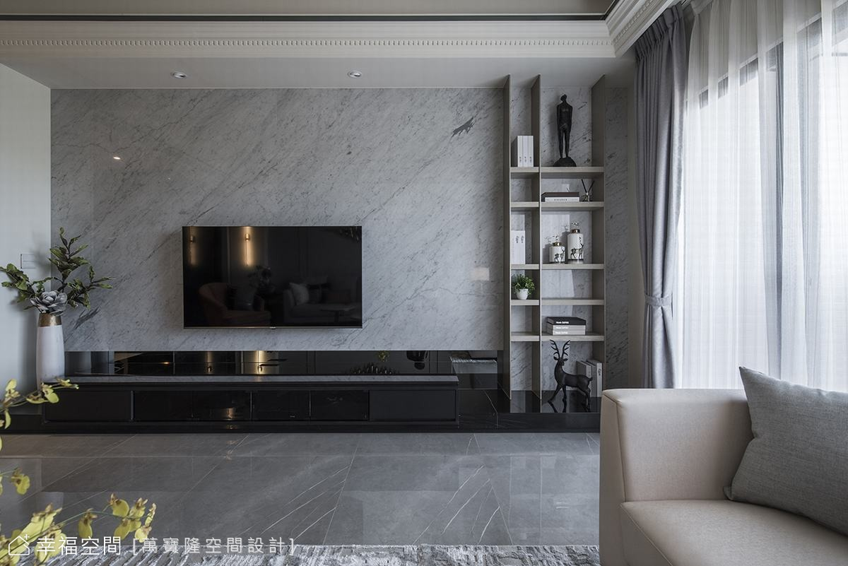融匯現代古典風情 打造恬靜淡雅美宅|111坪