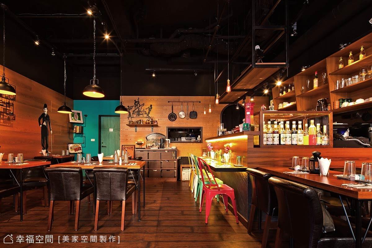 工業風餐廳 置身歐洲氛圍小酒館