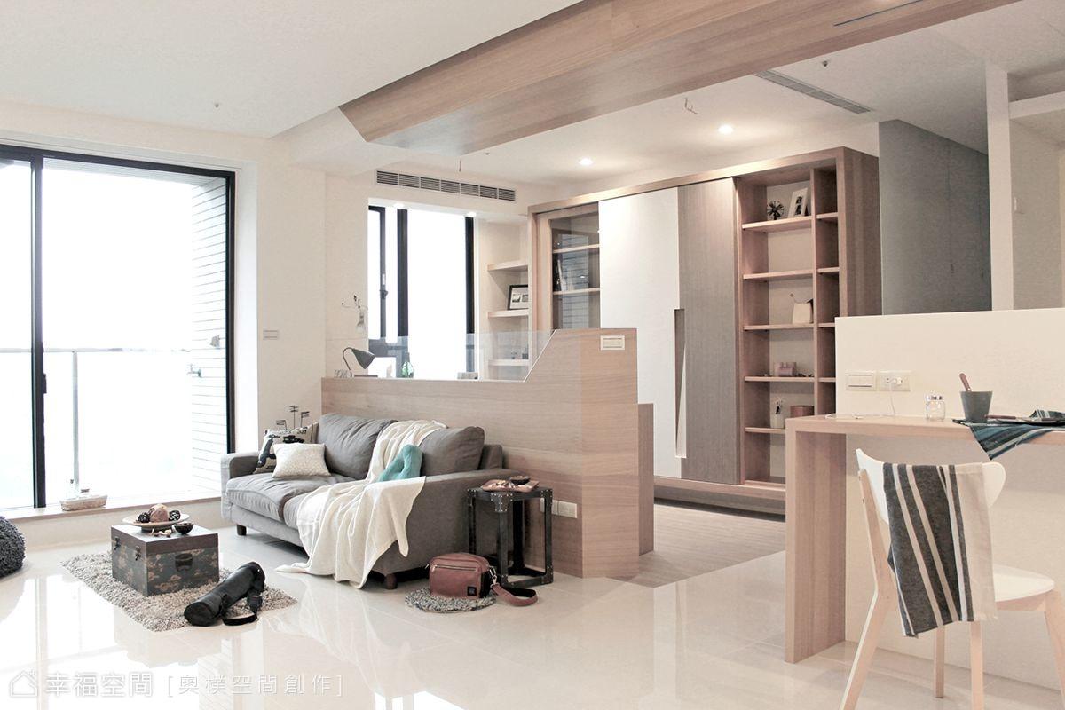 清新自然的放鬆住宅小窩