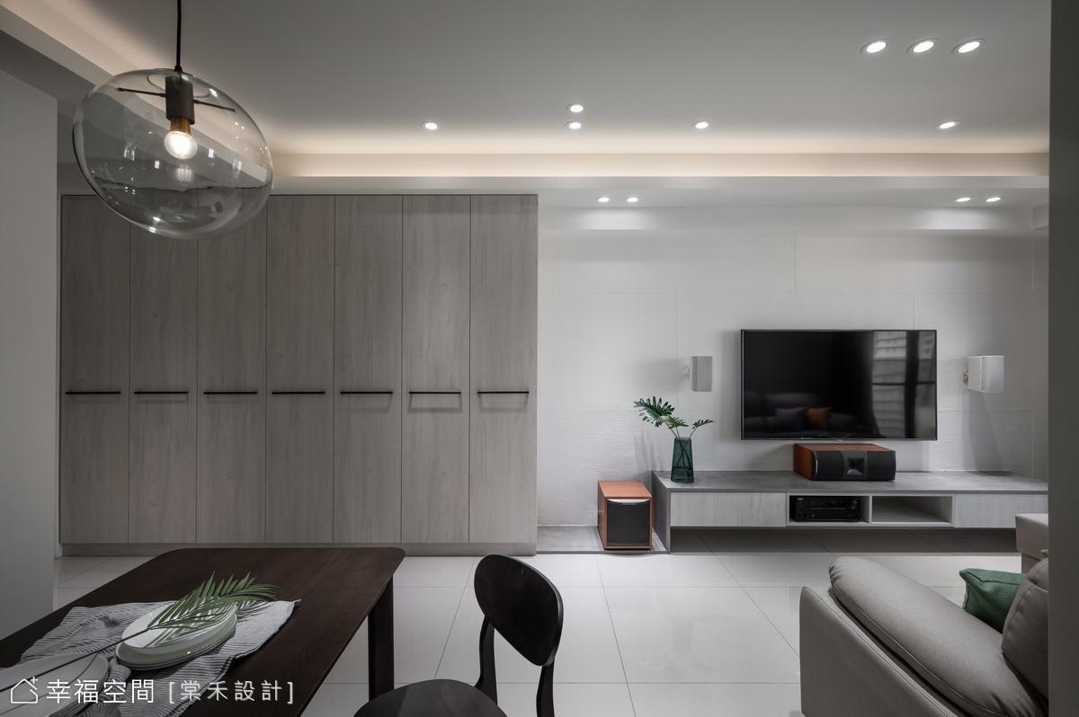 揉入北歐元素 清新好感宅|30坪|3房、2廳、2衛