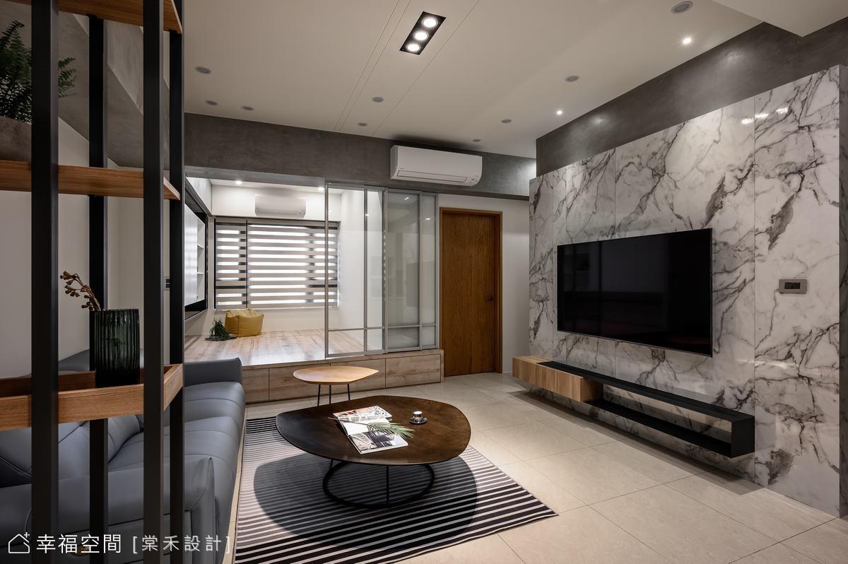 打造專屬和室角落 工業風也能很溫馨|30坪|3房、2廳、2衛