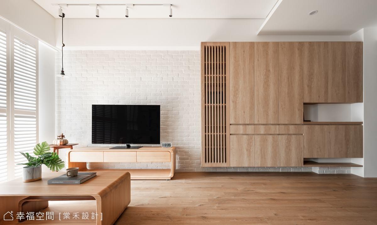 溫潤木質佐日光 譜出無壓日式風韻|30坪|3房、2廳、2衛