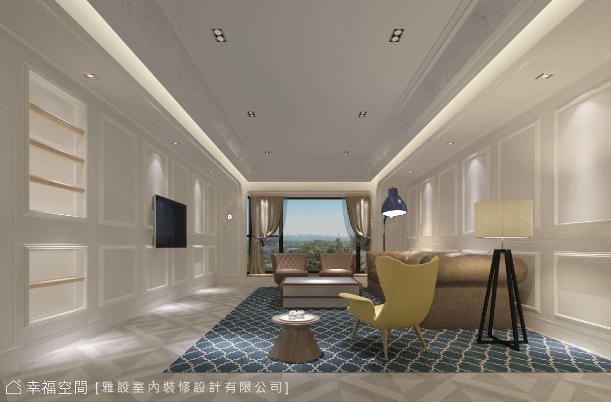上海世貿濱江花園張公館室內設計案