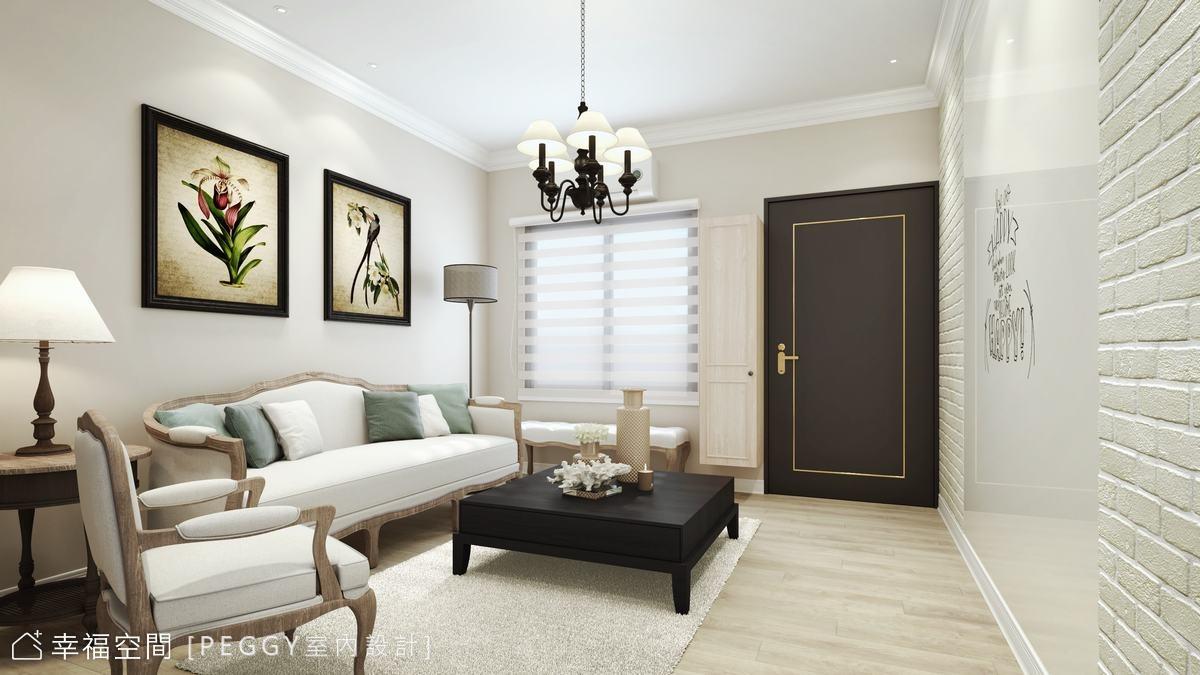 揉入美式語彙 重生法式浪漫經典宅|22坪|2房、2廳、2衛