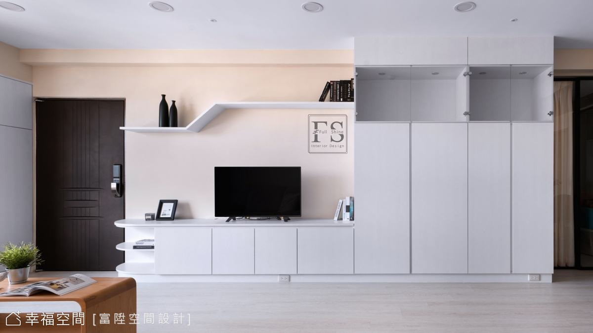 家,為我們圈出生活幸福的形狀|現代風、混搭風|30坪|4房、2廳、2衛