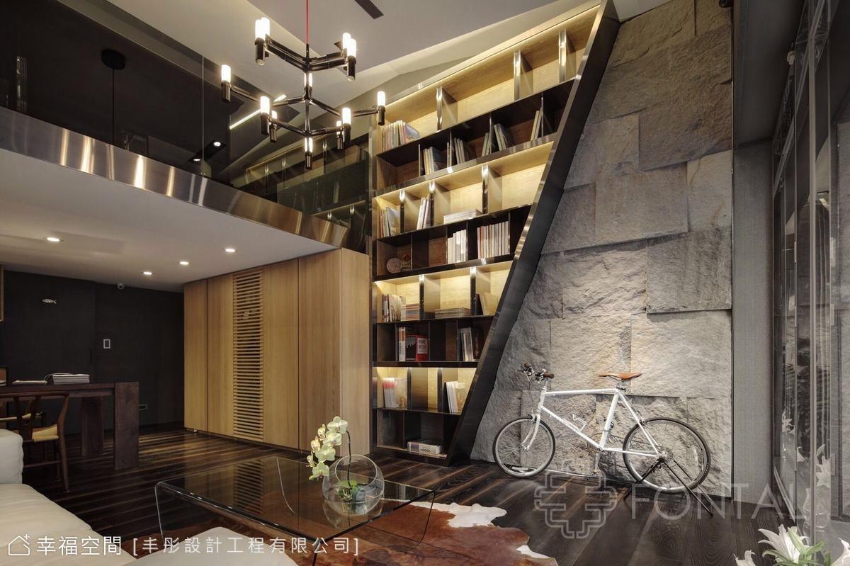 磅礡石材×精緻細節 透顯現代風尚|17坪|2房、2廳、1衛