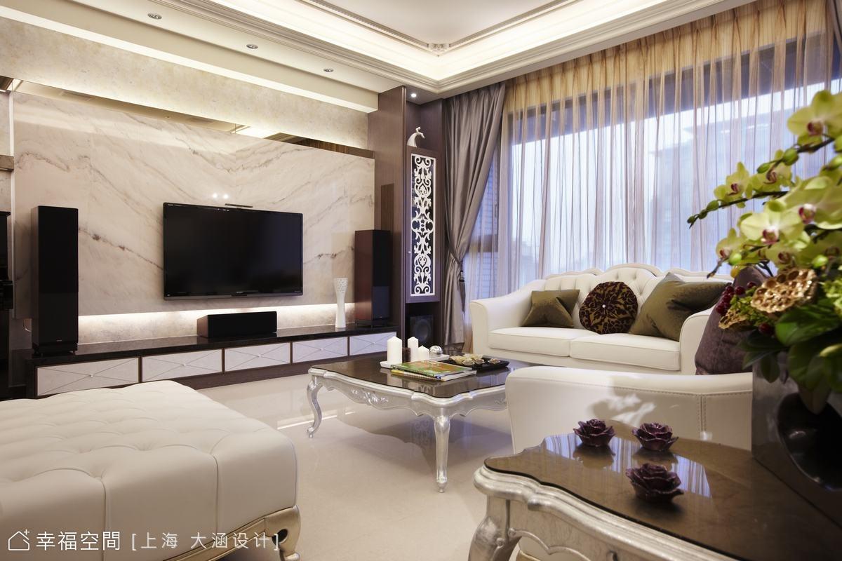 異材質混搭 新古典完美居家
