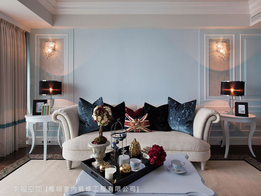 YOCICOの藍色經典 優雅美式宅邸